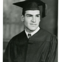 Hemeterio Romero High School Graduation Portrait