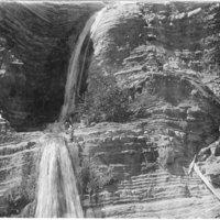 Upper Matilija falls