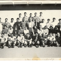 Group Photo of the 1953-54 Geology Club at Ventura College