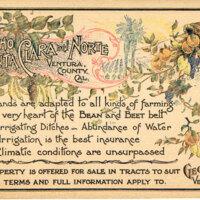 Rancho Santa Clara del Norte postcard