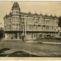 Hotel Rose post card