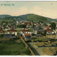 Portion of Ventura Postcard