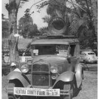 Car at Ventura County Fair, 1940