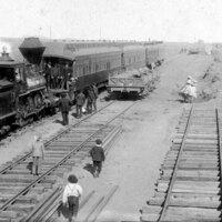 First Excursion Train to Ventura - Southern Pacific Railroad