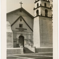 San Buenaventura Mission, Ventura, Calif. Post Card