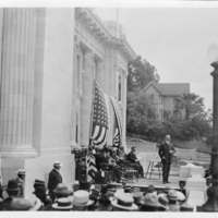 Ventura Courthouse dedication ceremony 1913