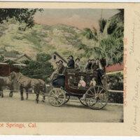 Matilija Hot Springs 1905 postcard