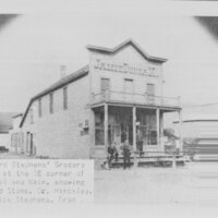 Richard Stephens' Grocery Store, Fillmore negative