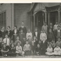 Student Body Photo, Ventura Street School, 1920-1921