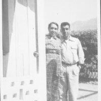 Guadalupe Villa De La Rosa and Son