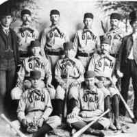 Santa Paula Ord & Haselton's Baseball Team