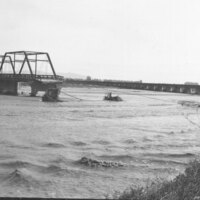 Santa Clara River Bridge, Missing Section