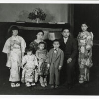 Tom Kurihara Family Portrait, 1930