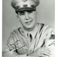 Pete Romero, Portrait in Military Uniform