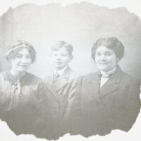Lucy, Ruth and Gabriel