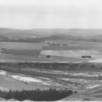 Flooded Area Saticoy to Santa Paula, 1928