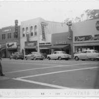 Hamilton Hotel and businesses on Main Street