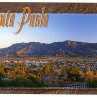 Greetings from Santa Paula postcard