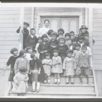 Japanese Methodist Church Children, 1925
