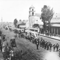 4th of July Parade, Ventura, 1876