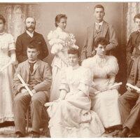 Kennard's Business College Graduating Class, 1893