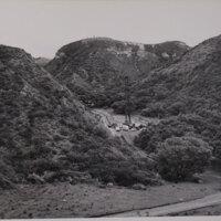 Oil Rig Amongst Hills