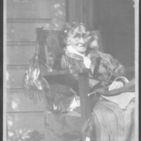 Adelaide Comstock Seated