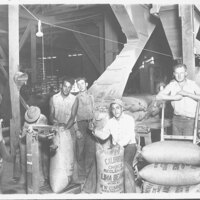 Workers at Saticoy Bean House