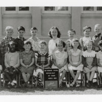 First Grade Class Photo, May Henning School, Ventura