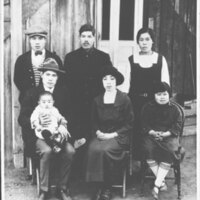Inadomi Family Portrait, 1924
