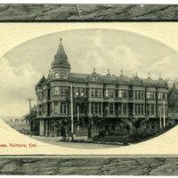 Hotel Rose, Ventura post card