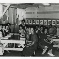 ESL Class at the Gila River Relocation Center