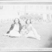 Guadalupe Villa De La Rosa With Son John and Sister Ascensión