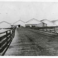 Hueneme Wharf and warehouses