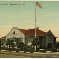 Oxnard High School postcard