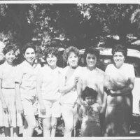 Group Photo of Women at Steckel Park, Santa Paula