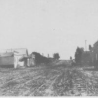 Main and California Streets, Ventura, California 1875