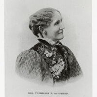 Portrait of Mrs. Theodosia B. Shepherd