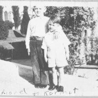 Lionel and Kermit Riave as Children