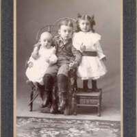 Daily Children Portrait--Milton, Tom, and Lillian