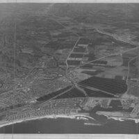 Aerial View of Ventura Marina, 1972