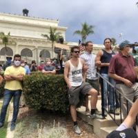 Serra Statue Protest