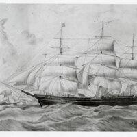 Sketch of a Clipper Ship