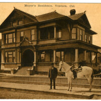 Mayor's Residence postcard