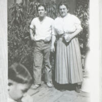 Gordon Ruiz with Mother Maria Nidever Ruiz