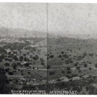 View from Mountains of Simi Valley, 1904