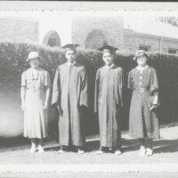 Nao Tagasugi and Joe Kawada With Their Mothers
