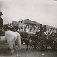 President Theodore Roosevelt and Senator Thomas Bard