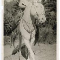 Carmen Camarillo on Horseback