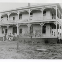 Mountain View Hotel, Piru, 1910